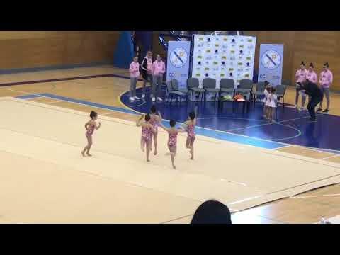 Talento en el torneo de gimnasia rítmica de Ribadeo