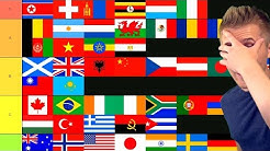 All Nations in the World Ranking Tier List