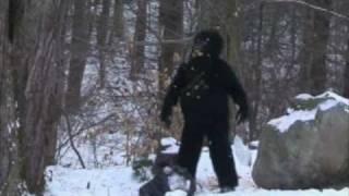 Shocking Sasquatch Sighting Caught On Tape