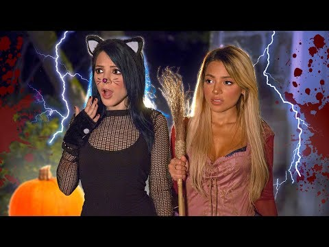 A Scary Night Routine by Niki and Gabi