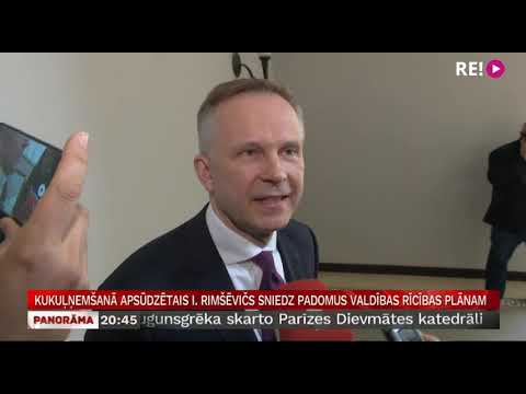 Kukuļņemšanā apsūdzētais I. Rimšēvičs sniedz padomus valdības rīcības plānam