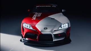 Toyota GR Supra GT4 concept video debut