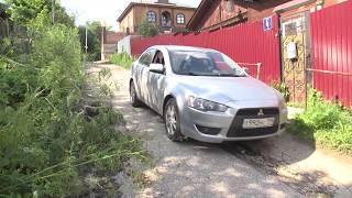 Открытый люк и разбитая дорога - Сосенский тупик