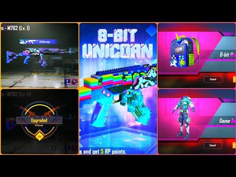 8 Bit Unicorn Crate Opening Pubg Mobile   8 Bit Unicorn M762 Upgrade To Max Level