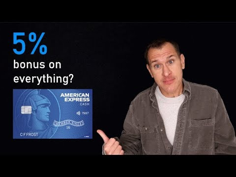 5% American Express Cash Magnet Credit Card Bonus On Everything!