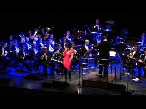 """Jingle Bells"" Royal Band of the Belgian Navy & Tutu Puoane 2014 (arr. Erik Jonghmans)"