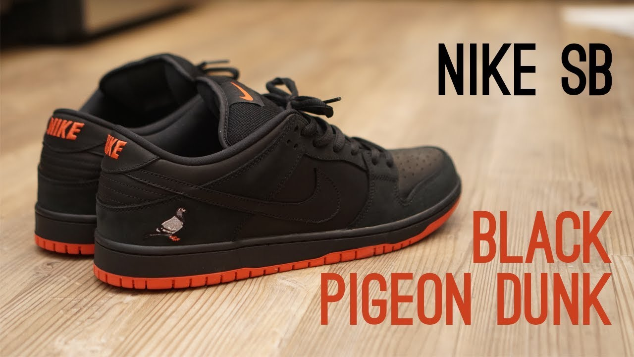 cozy fresh great quality hot sale Nike SB Black Pigeon Dunk Low Pro Overview