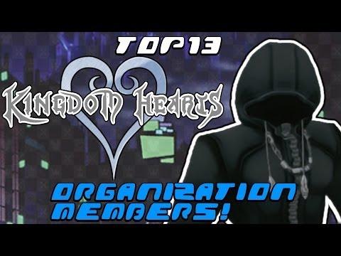 Top 13 Organization XIII Members in Kingdom Hearts