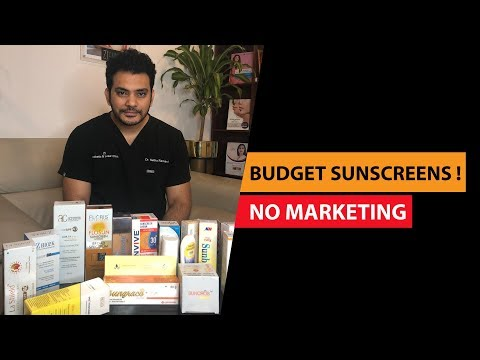 affordable-sunscreens-in-india-2019-|-no-sponsorship-|-dr.-sethuraman