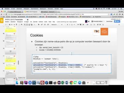 33 php cookie uitleg