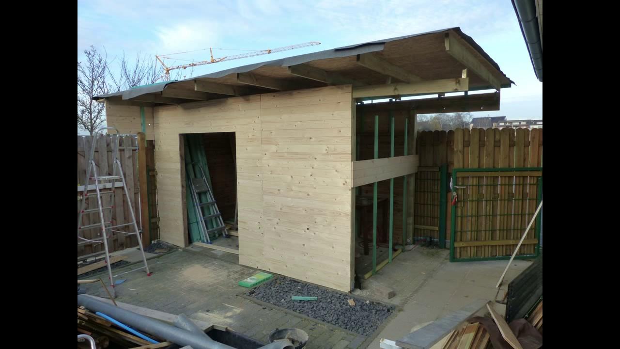 Gartenhaus aus carport selber gebaut youtube
