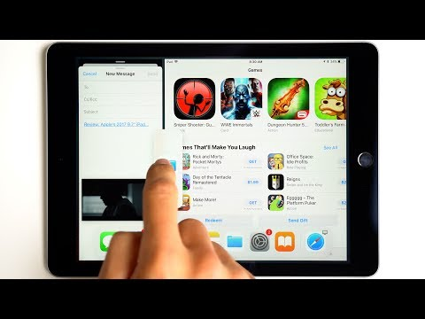 Inside iOS 11: How to use Split-View on an iPad!