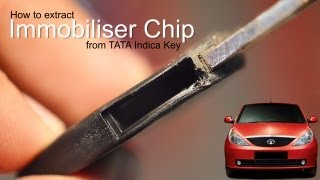 How to extract Immobiliser Chip from Indica Vista key
