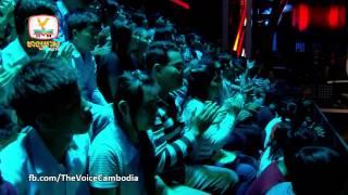 The Voice Cambodia - ប៉ាច គីម VS ម៉ម សុីណា - សង្សារលេងៗ - 14 Sep 2014