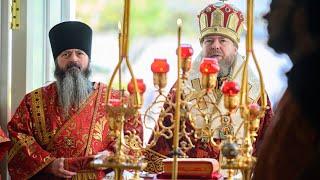 Божественная литургия в праздник святителя и Чудотворца Николая