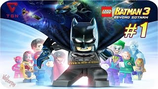 LEGO Batman 3 Más Allá de Gotham - Gameplay Español - Capitulo 1 - HD 720p