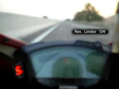 Ducati 1098s 304 Top Speed Mpg Youtube