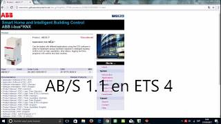 Модуль логічного KNX AB/S 1.1 ETS 4