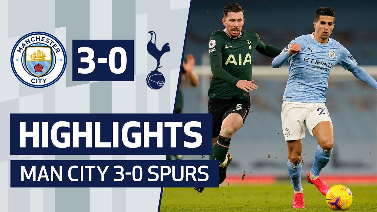 Highlights Man City 3 0 Spurs Youtube