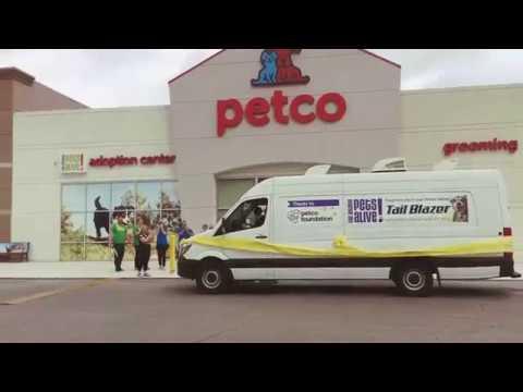 San Antonio Pets Alive! And Petco Foundation Present The Tail Blazer!