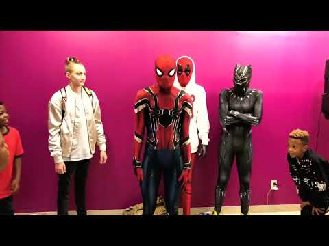 Yodeling Wal Mart Kid Remix #Ohlawdchallenge   The 'Backpack Kid' x Ghetto Avengers   (Dance Video)