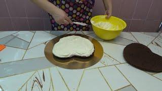 Творожный крем Собираем торт