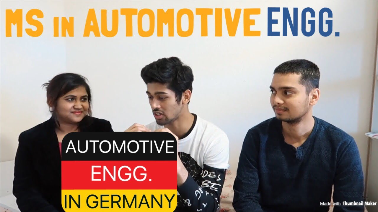 MASTER'S IN AUTOMOTIVE SOFTWARE ENGINEERING FROM GERMANY (TU CHEMNITZ)
