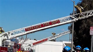 2nd Alarm Warehouse Fire Injures Firefighter