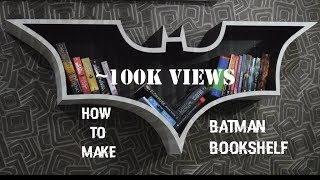 If you have burned your kindle then only you have my permission to make this batman bookshelf. link to the illustrator file-https://