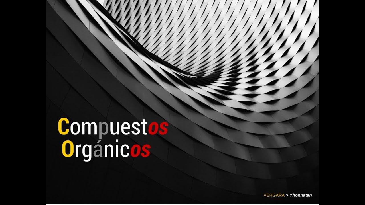 Tipos de compuestos orgnicos youtube tipos de compuestos orgnicos urtaz Choice Image