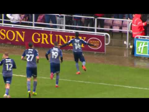 HIGHLIGHTS: Northampton Town 0 Charlton Athletic 4