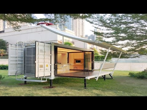 Container Home Can Be Moved And Setup In Hours