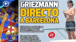 Le feuilleton Antoine Griezmann touche à sa fin | Revue de presse