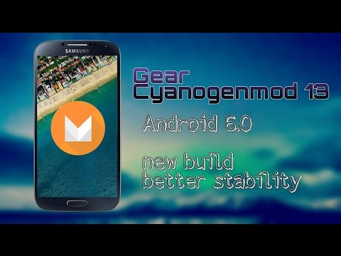 CM13 on the Galaxy S4 i9500-new build!(Not official