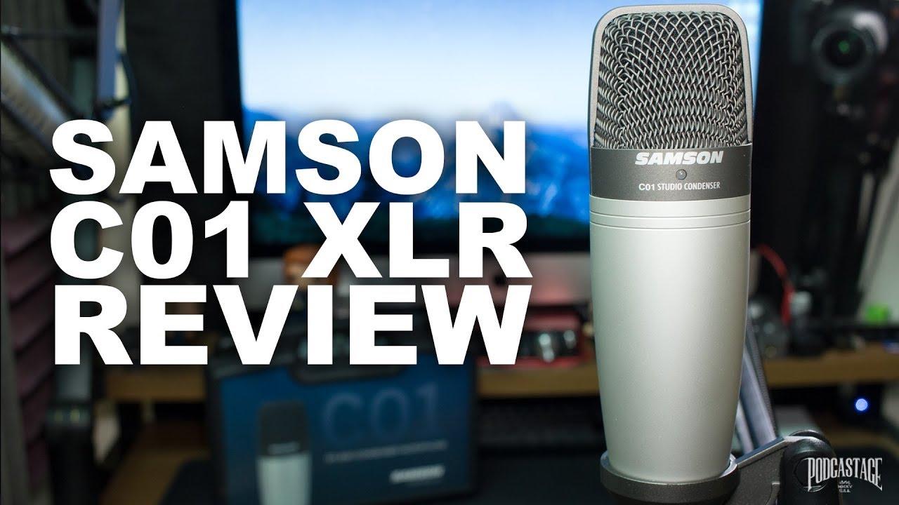 Samson C01 Condenser Microphone Review / Test
