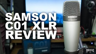 Samson C01 Condenser Microphone Review / Test