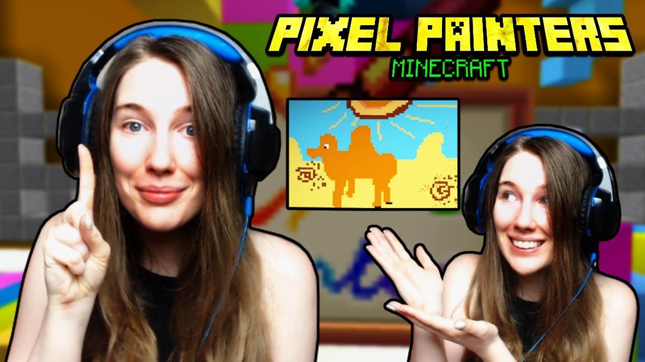 DE, egypúpú tevét! 🐪😂 ł Pixel Painters 🌈 ł Minecraft