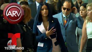Cardi B regresa a una Corte en Queens | Al Rojo Vivo | Telemundo