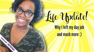 Youtube, My New Course, and me leaving my Day job - Girl Chat!
