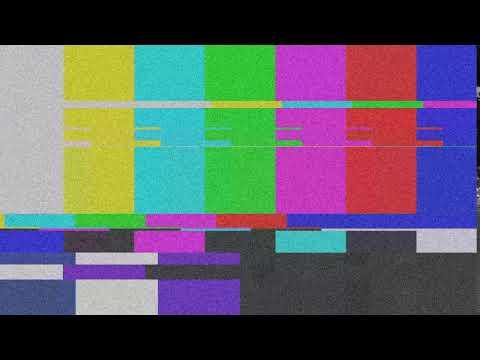 Футаж для переходов,Помехи в телевизоре Шипение, шум, глитч