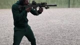 Floyd Mayweather shows off his deadly weapons & skills.