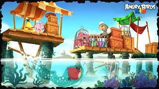 Angry Birds Rio 2 High Dive All Levels 3Star Walkthrough