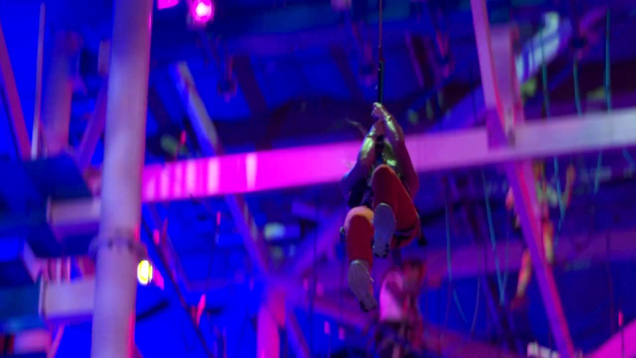 It Adventure Indoor Ropes Course At Jordan S Furniture In New Haven