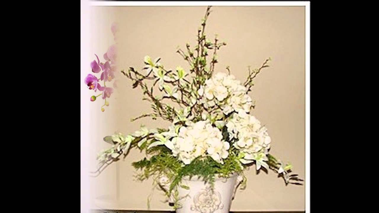 Beautiful fake flower arrangement ideas youtube beautiful fake flower arrangement ideas izmirmasajfo