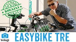 Koeajossa Easybike kaupunkipyörä