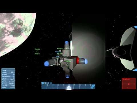 Space Engineers - orbiting Satellite