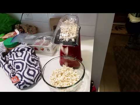 Healthy Snacks, Pop Your Own Popcorn with Betty Crocker MovieNite Popcorn Popper