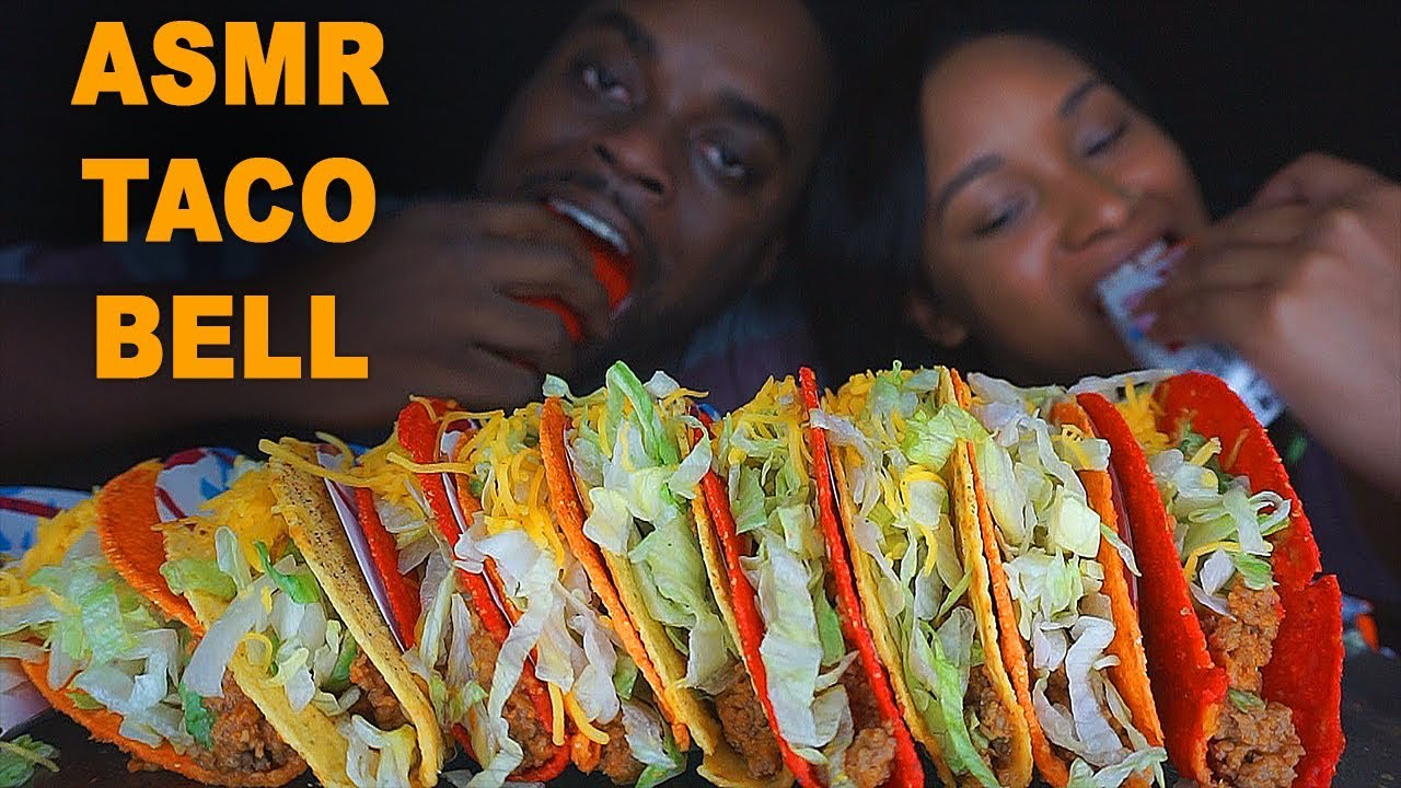 Asmr Taco Bell Crunchy Eating Sounds Relaxing Eating Sounds Beast Unleashed