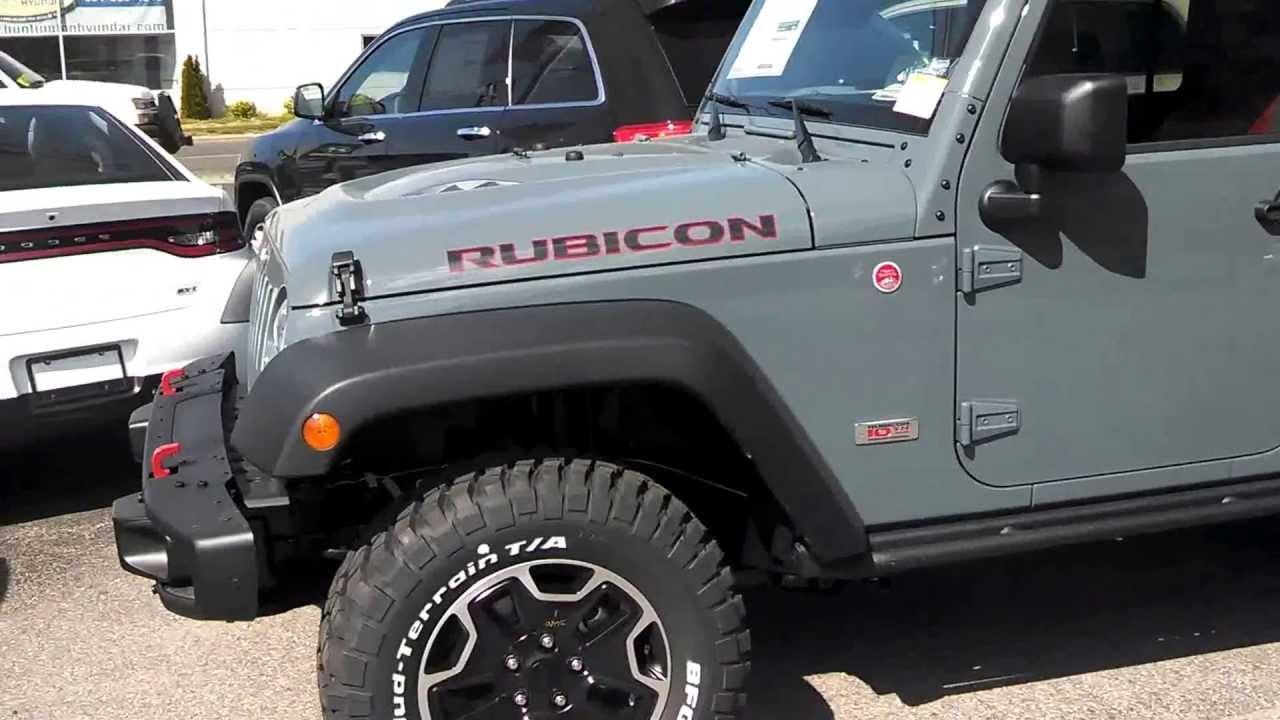 2013 Jeep Wrangler Rubicon Unlimited 10th Anniversary Edition