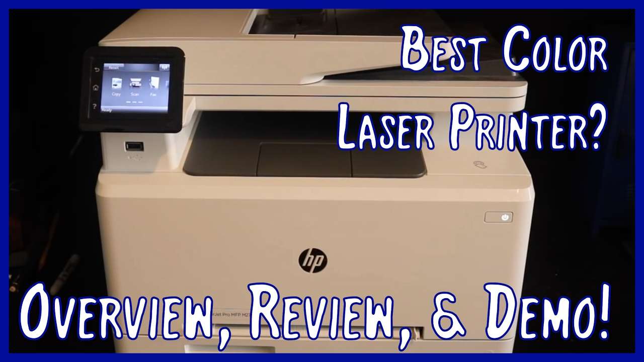 hp color laserjet pro m277dw overview review and demo best